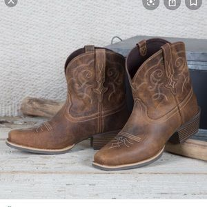 Justin's cowgirl boots